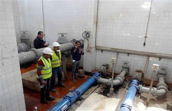 انتهاء مراجعة محطات معالجة الصرف الصحي بسوهاج   صور