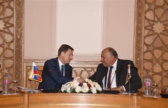 ننشر تفاصيل مباحثات وزيرى خارجية مصر وسلوفينيا | صور