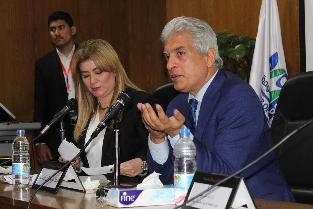 وائل الإبراشي: الإعلام المصري مستغرق في المحلية.. وكل القضايا يمكن طرحها بشرط الحفاظ على أمن البلاد   صور -