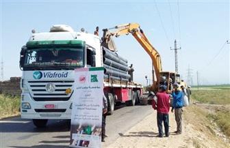 محافظ أسيوط: تنفيذ مشروع إحلال وتجديد للشبكات ودق آبار بقرية بني عدي  صور