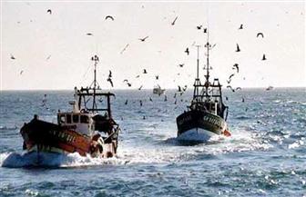 نوة الحسوم توقف مراكب الصيد بدمياط عن العمل