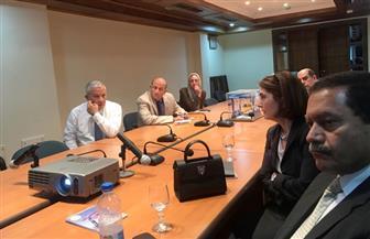 رئيس هيئة مواني البحر الأحمر يستقبل مندوبي شركة يونانية لبحث فرص الاستثمار | صور