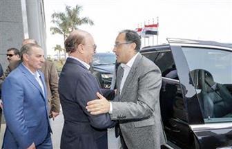 رئيس الوزراء يصل المنطقة الاقتصادية لقناة السويس .. ويلتقي عددا من المستثمرين