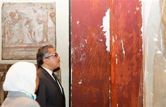 وزير الآثار يتفقد أعمال التطوير بالمتحف المصري بالتحرير |صور