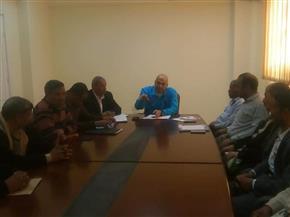 قرارات هامة في اجتماع المجلس التنفيذي بالطود في الأقصر   صور