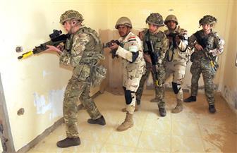 """استمرار التدريب المصري ـ البريطاني """"أحمس١"""" متضمنا القتال في المدن وتحرير المنشآت من سيطرة إرهابيين"""