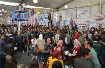 تيشرتات تحمل صور المرشحين وحضور طلبة الجامعات.. أبرز مشاهد انتخابات الصحفيين اليوم