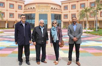 مستشار رئيس الجمهورية يزور مستشفى الأورام في الأقصر | صور