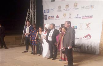 بدء توافد الفنانين على حفل افتتاح الأقصر للسينما الإفريقية |صور