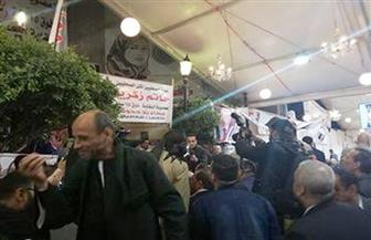 أنصار ضياء رشوان يحتفلون بتقدمه في السباق على مقعد نقيب الصحفيين