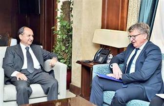 وزير التجارة يبحث مع سفير الاتحاد الأوروبي العلاقات الاقتصادية خلال المرحلة المقبلة