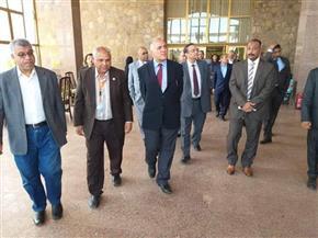 وزير الرى يتفقد المزارات السياحية بأسوان   صور