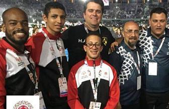 مصر تحصد ذهبية وفضية التزلج على العجلات في الأولمبياد الخاص بأبو ظبي 2019