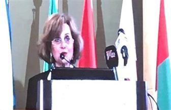 نادية مكرم عبيد: الذكاء الاصطناعي سلاح ذو حدين ويجب الاستفادة منه في قضايا المياه |صور