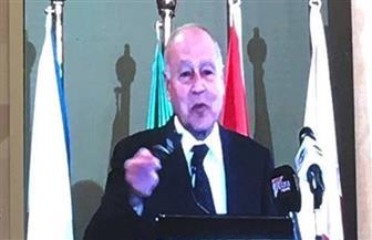 الجامعة العربية تعلن استضافة اجتماع وزراء الري والزراعة.. وأبو الغيط: المياه قضية حاضر ومستقبل   صور