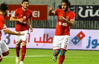 الأهلي يحرز الهدف الأول في مرمى شبيبة الساورة بدوري أبطال إفريقيا