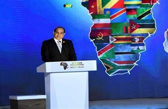 """الرئيس السيسي: إطلاق مبادرة """"100 مليون صحة"""" لغير المصريين في البلاد"""