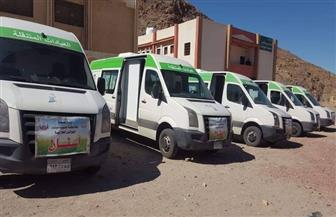 قافلة طبية مجانية إلى أودية بير زغير ومجيرح بمدينة نويبع جنوب سيناء.. غدا