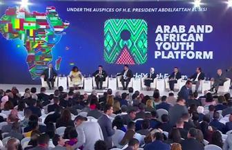 انطلاق فعاليات جلسة مستقبل البحث العلمى بملتقى الشباب العربى الإفريقى