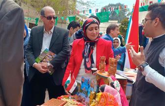 ملتقى تراث الشعوب الرابع ينعقد في كلية الفنون التطبيقية بجامعة حلوان | صور