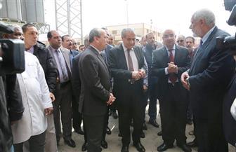 وزير التموين ومحافظ كفرالشيخ يتفقدان قطاع المطاحن بالمحافظة لإنتاج الدقيق المدعم | صور