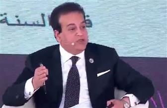 وزير التعليم العالي: مصر فى المركز 35 عالميا في ما يتعلق بنشر الأبحاث العلمية