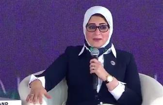 وزيرة الصحة: نستهدف إنتاج 300 ألف لتر بلازما سنويا