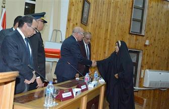 مدير أمن البحر الأحمر يكرم الأم المثالية بالمديرية وعددا من الضباط المتميزين | صور