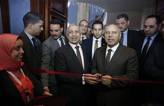 وزير النقل يفتتح المعرض الدولي للمعدات والخدمات البحرية في الإسكندرية   صور