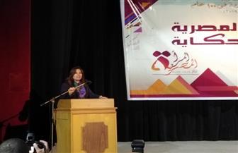 محافظ دمياط تشهد احتفالية المرأة المصرية في 100عام   صور
