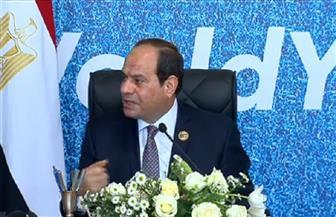 الرئيس السيسي: تمكين المرأة يرجع لوجود إرادة سياسية