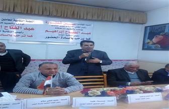 عبد الفتاح إبراهيم: سياسات الأنظمة السابقة دمرت صناعة الغزل والنسيج وعمالها