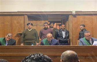 محمود نظمي يعترف بقتل أطفاله أمام محكمة جنايات المنصورة | صور