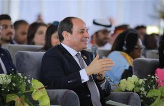 الرئيس السيسى: يجب الاستفادة من نتائج البحث العلمي الذى يقوم به الشباب الإفريقى خارج القارة
