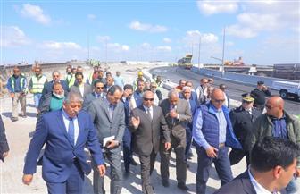وزير النقل: الانتهاء من محور الدخيلة قبل نهاية شهر أبريل المقبل   صور