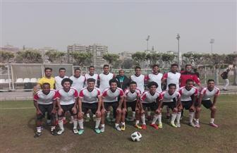 منتخب جامعة أسيوط لكرة القدم يواجه فريقا من غانا غدا | صور