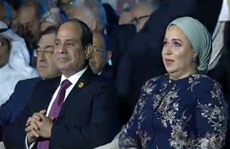 الرئيس السيسي يصل مقر انعقاد الجلسة الختامية لملتقى الشباب العربي الإفريقي بأسوان