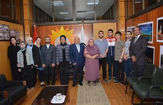 نائب رئيس جامعة أسيوط: علاقتنا بجامعات روسيا الاتحادية ممتدة على مدار 23 عاما | صور