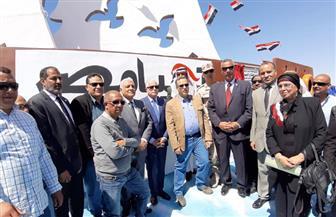 محافظ جنوب سيناء يفتتح منشآت خدمية في مدينتي أبورديس وأبوزنيمة |صور