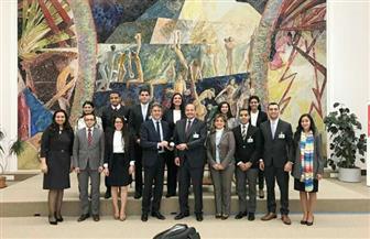 برنامج تدريبي لشباب الدبلوماسيين بالمنظمات الدولية في المقر الأوروبى للأمم المتحدة | صور