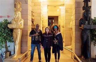 متحف نيل أسوان يستقبل المشاركين في ملتقى الشباب العربي الإفريقي | صور
