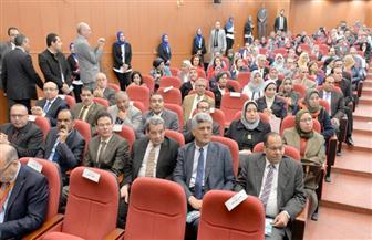 عبدالباسط بمؤتمر تدويل التعليم العالي بجامعة المنصورة: التعليم هو الهدف الرابع للتنمية المستدامة | صور