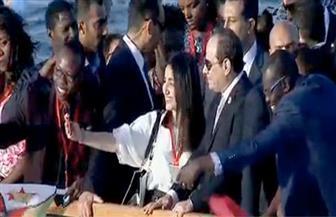 """تنسيقية شباب الأحزاب والسياسيين تنظم أول صالون سياسي على هامش الملتقى """"العربي الإفريقي"""""""