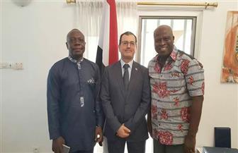 طرح أفكار للتعاون بين اللجنة الباراليمبية المصرية والاتحاد التوجولى