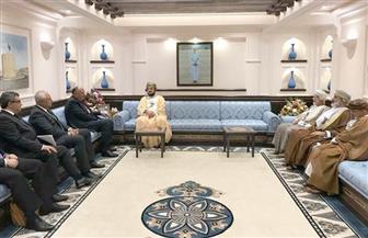تفاصيل لقاء نائب رئيس الوزراء العمانى بسامح شكرى فى مسقط