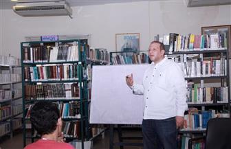 ناصر عبدالرحمن: حالة شغف تسيطر على حاضري ورشة كتابة السيناريو | صور