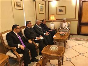 تفاصيل مباحثات وزير الخارجية ونظيره العماني قُبيل بدء أعمال اللجنة المشتركة بمسقط