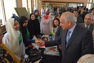 افتتاح ملتقى تطوير التعليم الفني بقصر ثقافة الجيزة| صور