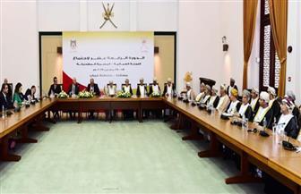 تفاصيل اجتماع اللجنة المصرية - العمانية المشتركة وتوقيع عدد من الاتفاقات | صور