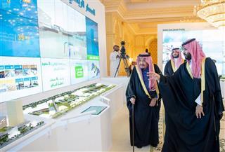 العاهل السعودي يطلق مشروعات ترفيه بقيمة 23 مليار دولار بالرياض